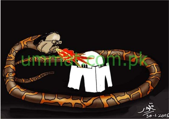 CARTOON_Altaf Bory Wala is a Snake_U_31-01-15